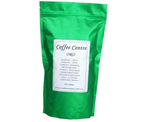 """Кофе в зернах Prima Italiano """"ORO"""" (250 г)"""