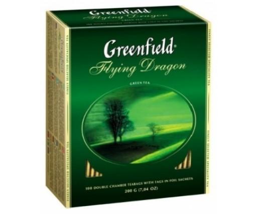 """Гринфилд """"Flying Dragon"""" green(2гр*100*10)"""